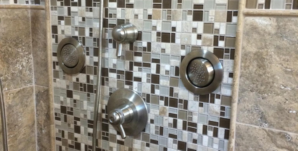 Custom tiling is one of the many specialties of Floor It & More.
