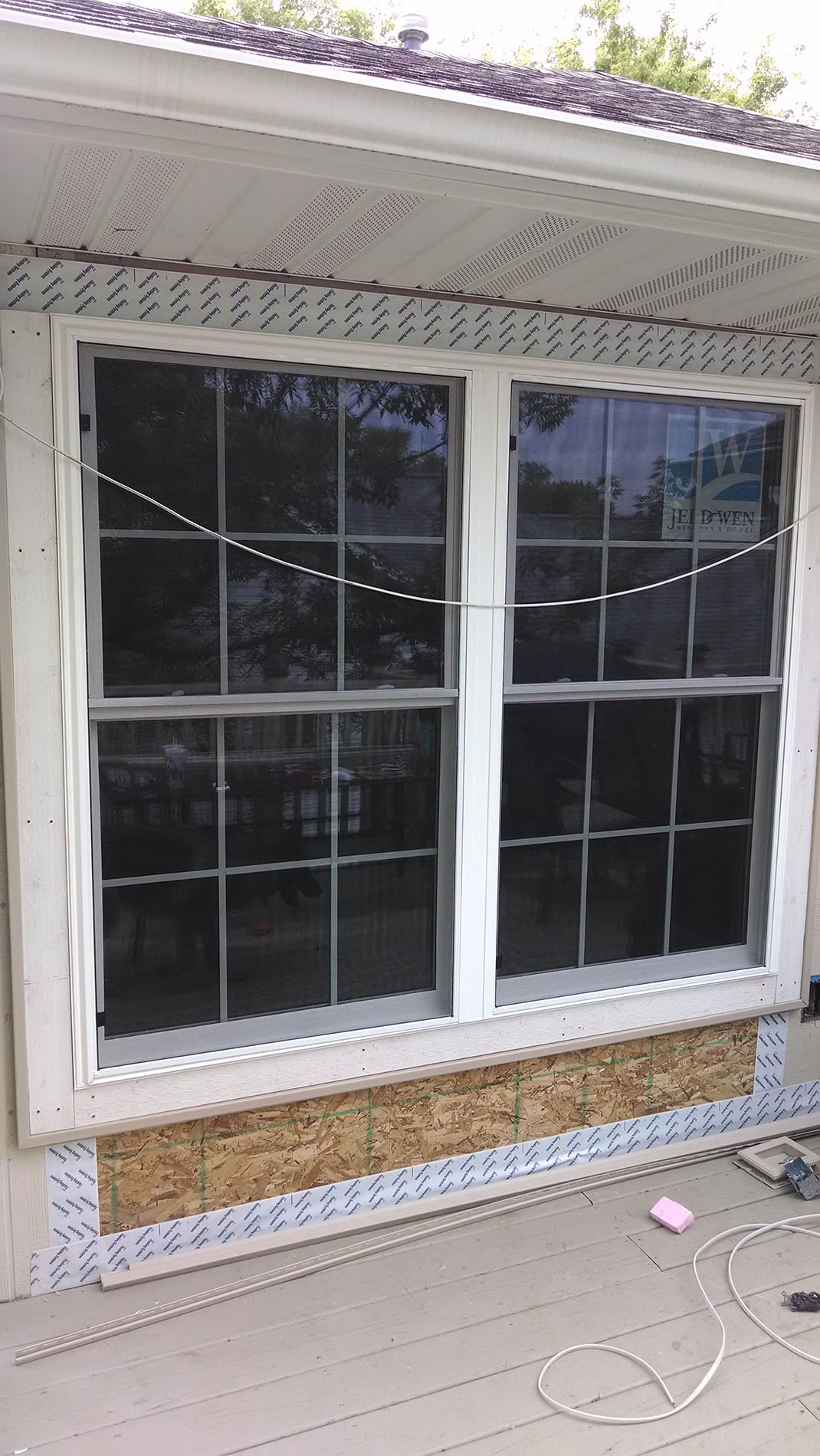 New Exterior Window -