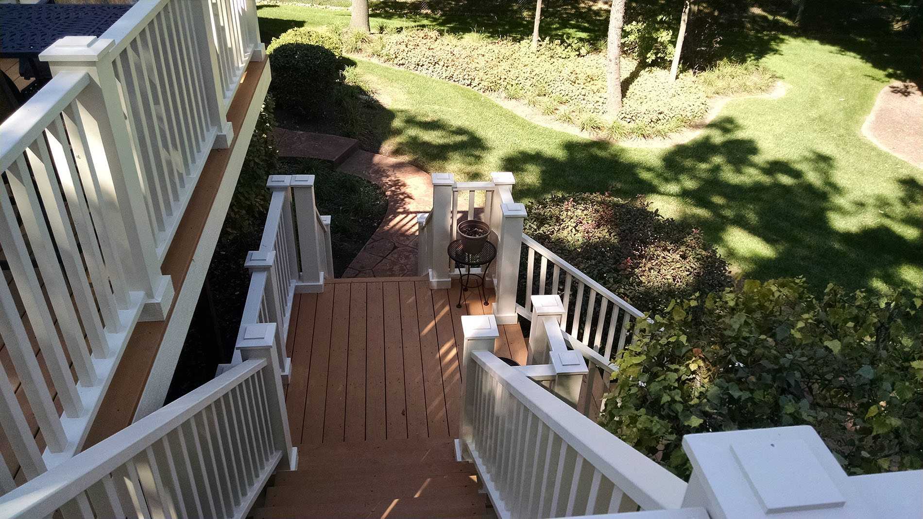 Exterior Stairs (alternate view) -