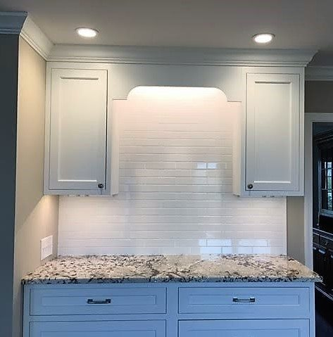 Custom Tile (cabinet backsplash) -