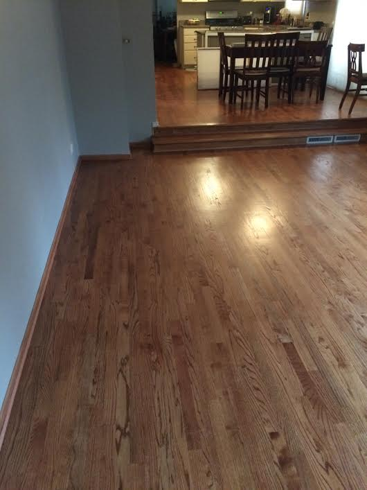 Finished Wood Floor (alternate view) -