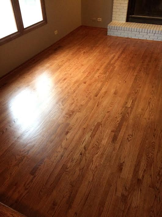 Finished Wood Floor -
