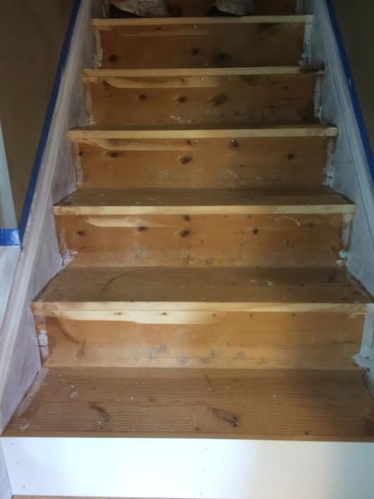 New Stairs (in progress) -