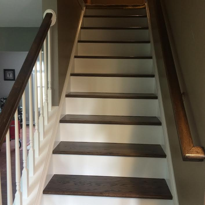 New Stairs (looking up; alternate view) -
