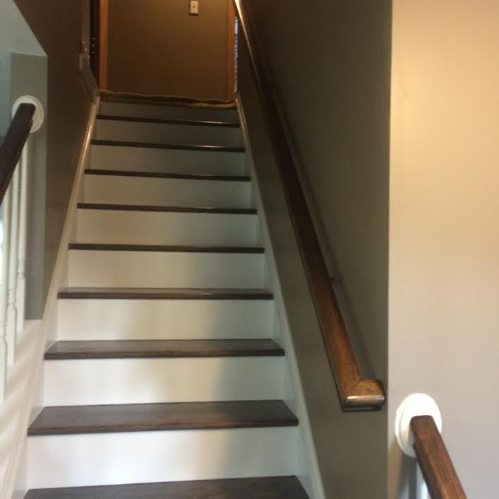 New Stairs (looking up) -