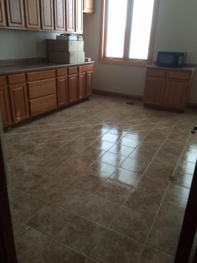 New Kitchen Tile Floor
