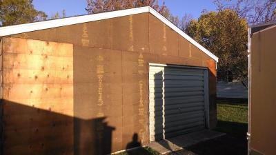 Rotting Exterior Wall Repair