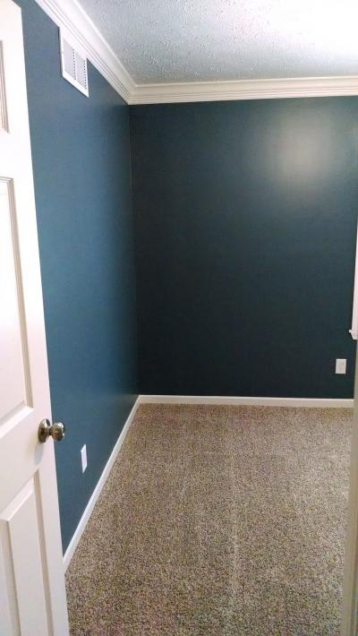 Finished Bedroom (royal blue)