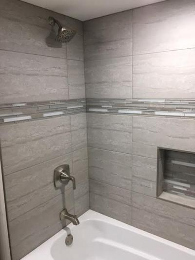 Custom Tile (bathtub, alternate view)