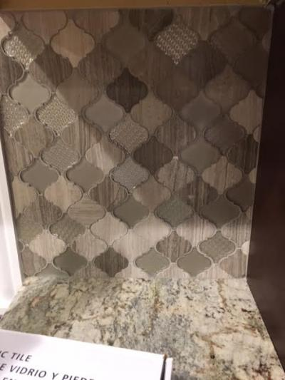 Custom Decorative Tile (close up)
