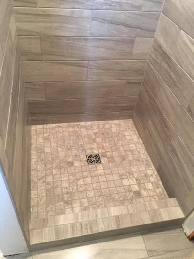 Custom Tile Modern Shower