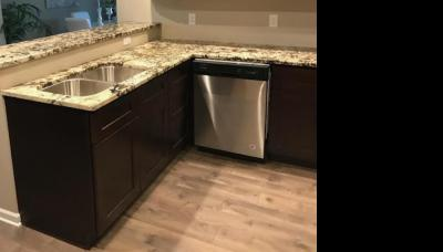 Kitchen Remodel with Vinyl Flooring