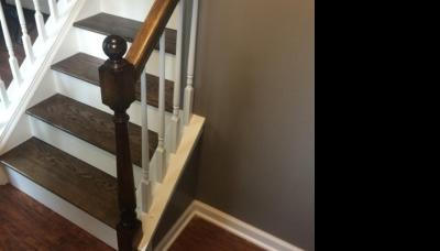 Stairs Paint and Stain