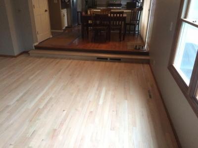Unfinished Wood Floor