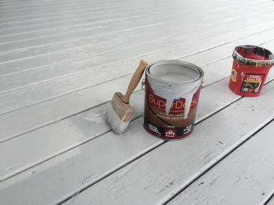 We Use the Best Quality Deck Stain