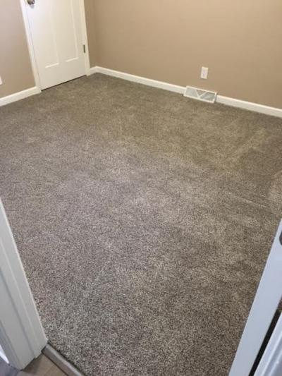Newly Carpeted Bedroom