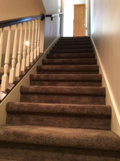 Newly Carpeted Stairs