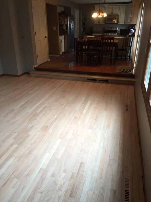 Unfinished Wood Floor (alternate view) -